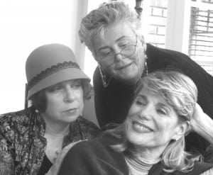 Dottie, Kate and Mae: Between the Sheets. An Intimate Look at Three Dames (Photo courtesy of Brick Town Theatre)