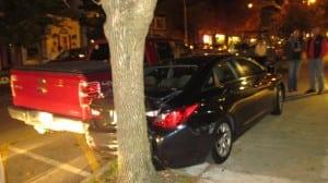 mayor trunk damage