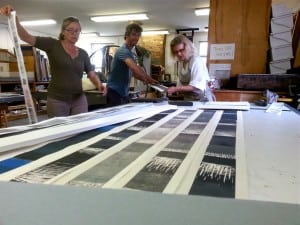 Printmaking with Susan English, Thomas Huber and Leslie Kerby