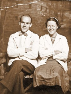 Brooks Bowman and his girlfriend Edith Brooks (Photo courtesy of Hans-Martin Fleischer)