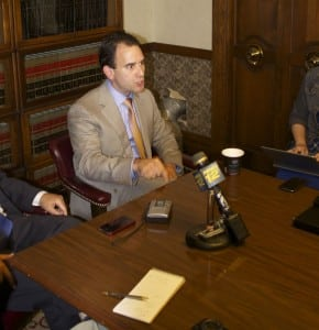 District Attorney Adam Levy (file photo)