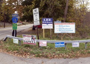 Voters in Philipstown go to the polls Nov. 5. Photo by K.E. Foley