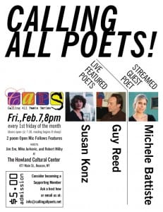 Calling All Poets Poster