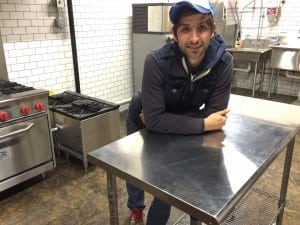 Jason Robert Schuler in the new kitchen for Drink More Good.