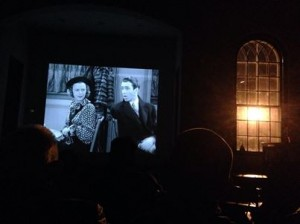 December's CSFS screening of The Shop Around The Corner at Butterfield Library  (Photo courtesy of the CSFS)