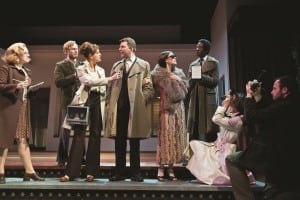 A scene from Merrily We Roll Along.