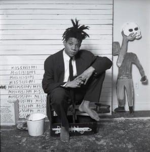Jean-MichelBasquiat, in a photo bybyDmitriKasterine