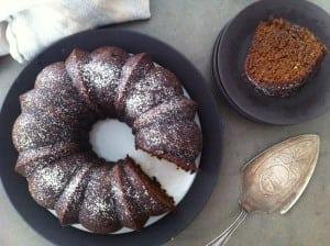 Gingerbread cake 1