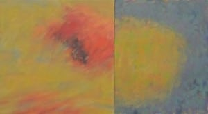 PaintingbyBillKoolstra,partofthefirstexhibitionatBusterLeviGallery.