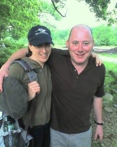 Kathy Zeller with PatrickO'Keeffe (PhotocourtesyofTomZeller)