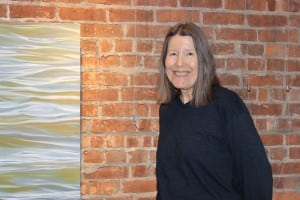 Painter Fredericka Foster (Photo by A. Rooney)