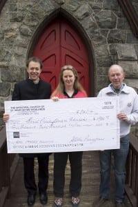 Fr.ShaneScott-Hamblin,AndreaBachandGordonStewart (PhotobyK.E.Foley)