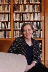 JenMcCreery,thenewly-appointeddirectoratDesmond-FishLibrary.(PhotobyA.Rooney)