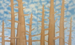 Theo Ganz Studio Joseph Ayers Untitled (Trees and Clouds)