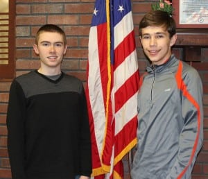 students honored 2
