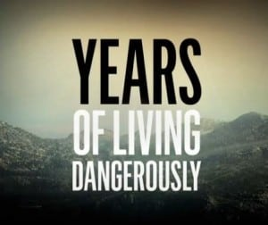 years of living dangerous logo
