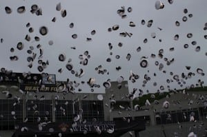 The hat toss