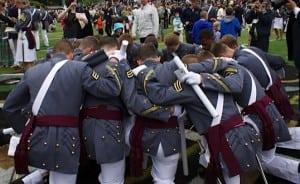 Graduating cadets