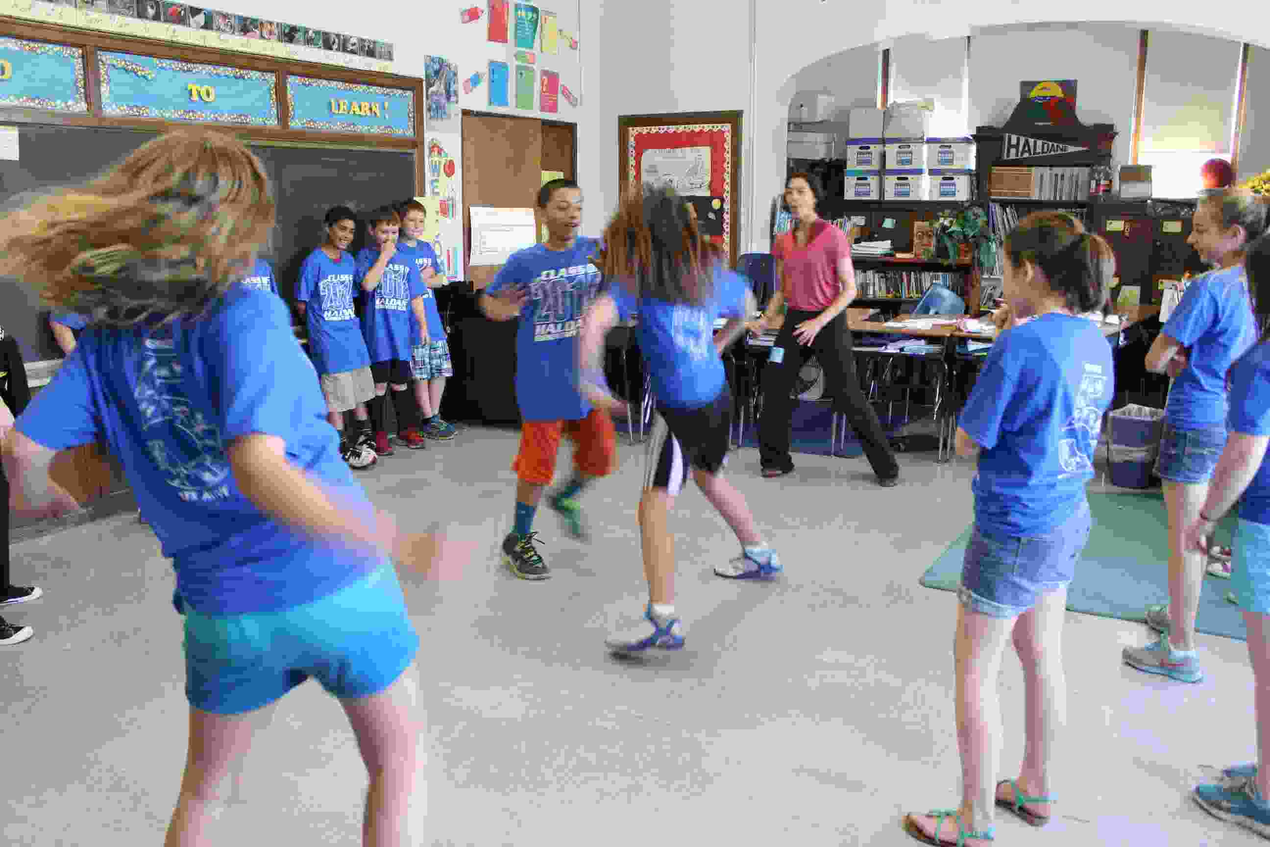 Haldane Fifth Grade Arts Day Hip Hop Choreography IMG_9857
