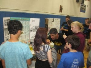 Haldane students participate in STEM activities.