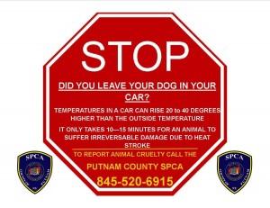 SPCA Stop Sign