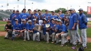 Haldane Varsity Baseball defeated Tuckahoe 7-3 to seize the Section 1, Class C title — the team's third consecutive title — May 31, at Provident Bank Park, home of the Rockland Boulders in Pomona.