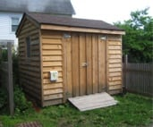 Haldane's Education Shed
