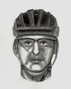 Bike path suspect Image provided
