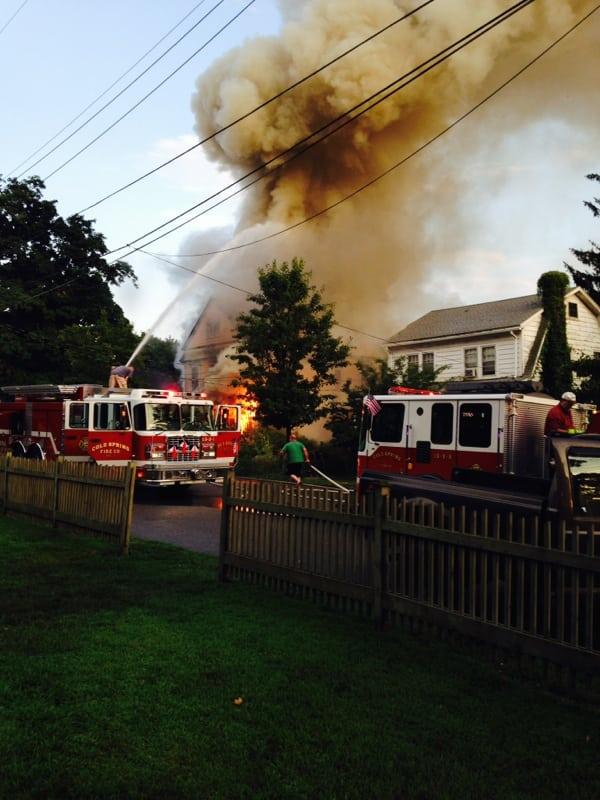Fire on High Street 5