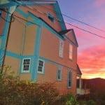ThesideoftheImpellizzeri-Wrighthousebasksinafallsunsetin2011. PhotobyL.S.Armstrong