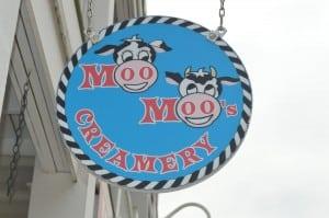 Moo Moo's sign