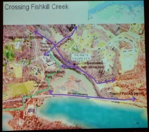 A map of the area near Beacon considers Fishkill Creek.