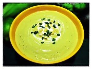 Chilled Avocodo-Corn Cream