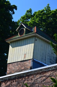 The cupola that sits atop the Cold Spring Village Hall housed the fire company siren.