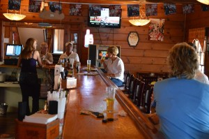 The Eagle's Nest pub has a cozy atmosphere — and a varied menu.