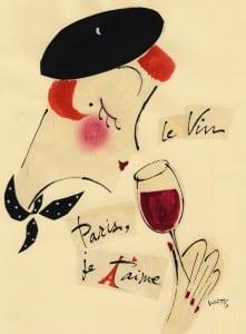 """LeVin—Parisjet'aime""bySharonWatts"