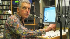 Marc Breslav is in his 21st year as a DJ at WVKR. (Photo by Arlene R. Seymour)