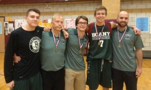 Ian Thom, Head Coach Bill Thom, Assistant Coach Billy Thom, Peter Hoffmann, Assistant Coach Nick Nastasi
