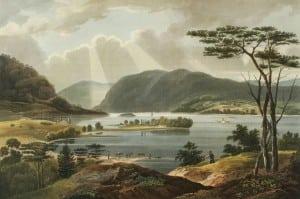 WilliamGuyWall(1792-1864),artist,JohnHill(1770-1850),engraver;TheHudson RiverPortfolioincludesasuiteoffamousaquatints.