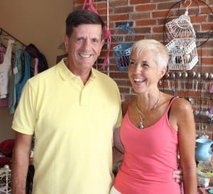 Lowell and Colleen Kavana, proprietors of Zen.
