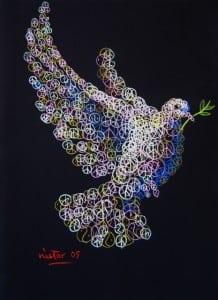 """PeaceDove""byNestorMadalengoitia"