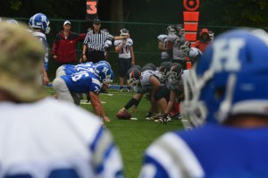 The Haldane Blue Devils will play their Homecoming game under lights Sept. 26.