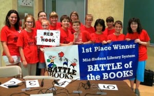 First place winners: Red Hook Public Library (Photo by Ginny Figlia)