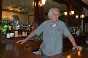 "Owner Doug Price wants his pub to be a place where people ""can enjoy some good food ... and have good conversation."""