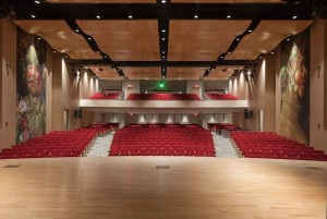 The six-month-old Marriott Pavilion theater at the Culinary Institute.