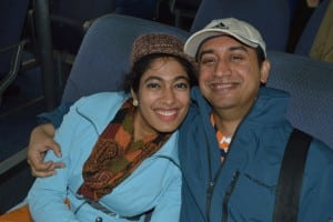 "For Jenny and her husband Ashok, the trip to Cold Spring was ""like a date after eight years of marriage."""