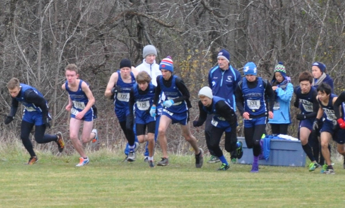 Boys Cross Country Start – States 2014 – share