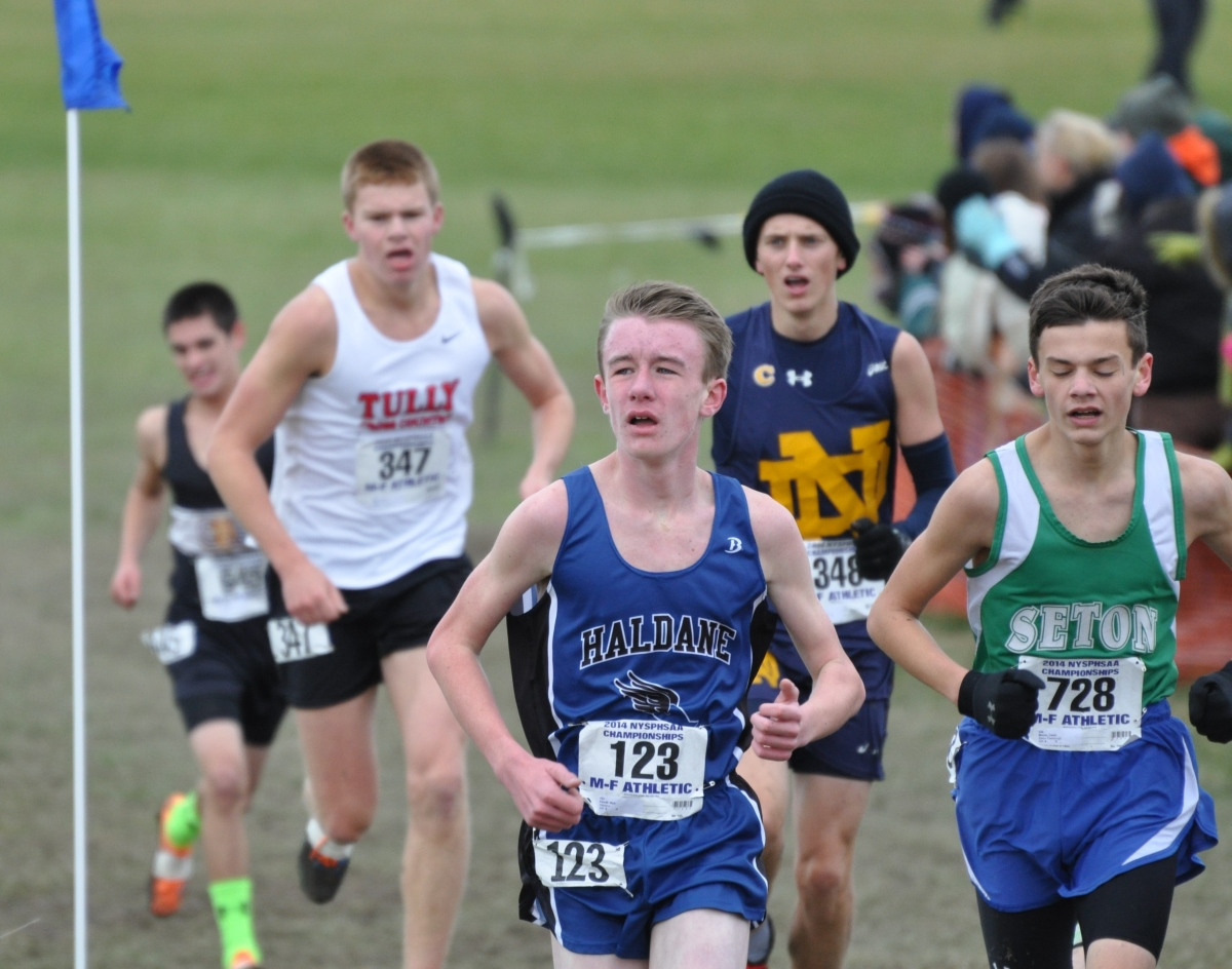Nick Farrell running in States 2014 – share