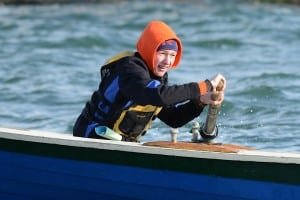 BBBB's Nolan Shea rowing in the Icebreaker Nov. 22 in Hull