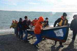 BBBB loads their boat after the Icebreaker Nov. 22 in Hull.